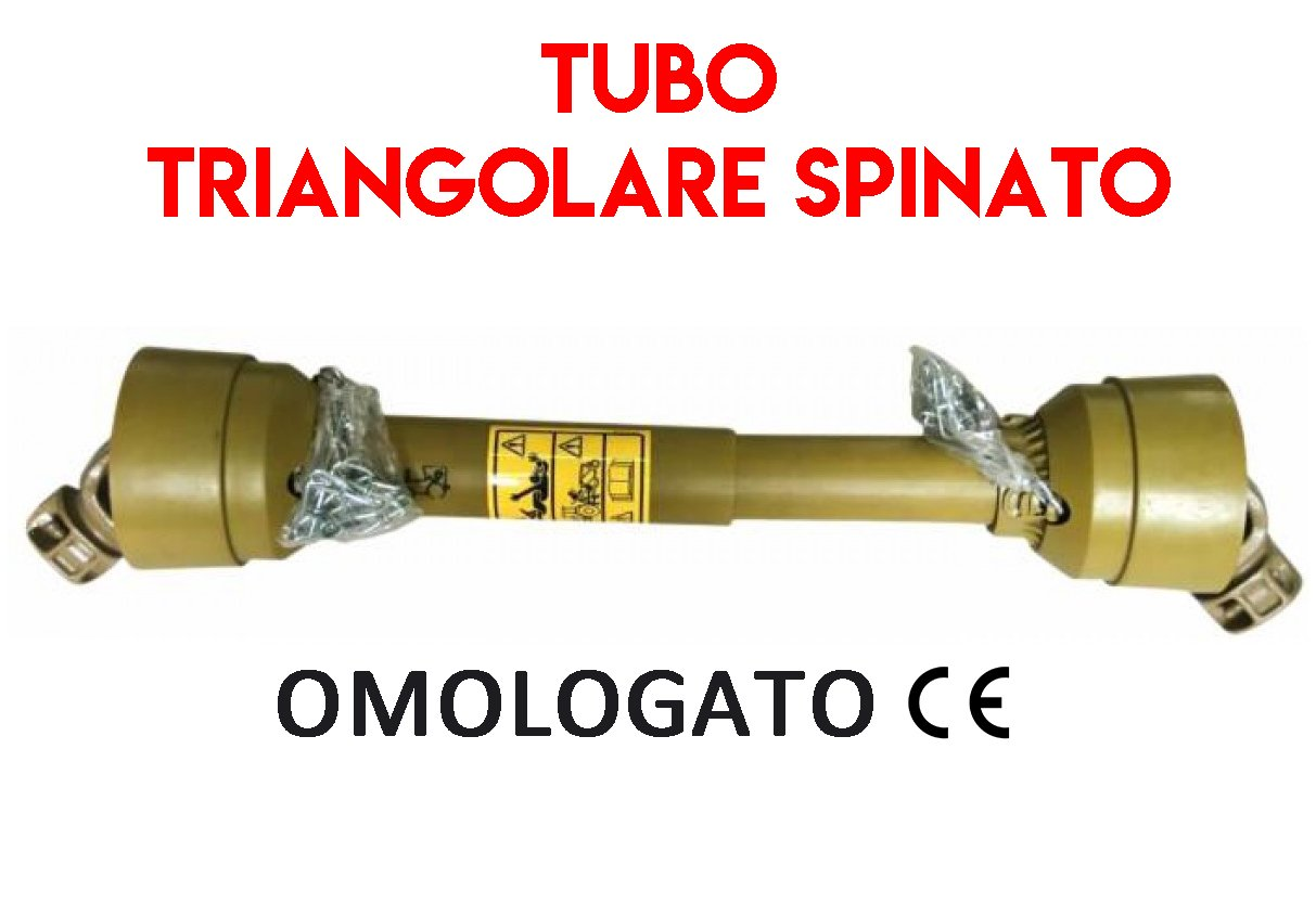 Cardano CE cat 2 x 800 mm omologato albero cardanico giunto cardanico trattore