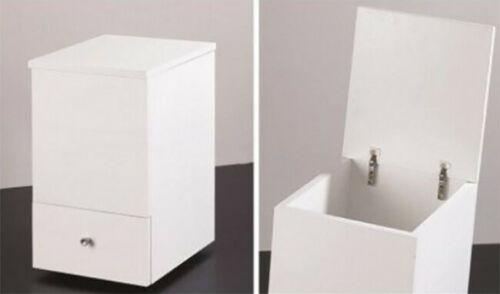 Cassettiera sgabello con ruote rotelle cassetti mobile da bagno moderno