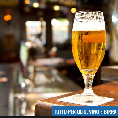 Birra, Vino, Olio