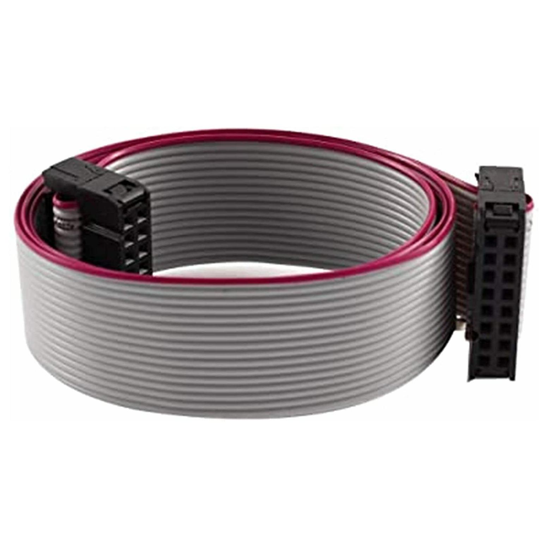 1mt Cavo flat cavo piatto multipolare 16 poli passo 1,27mm per PC connettore IDC