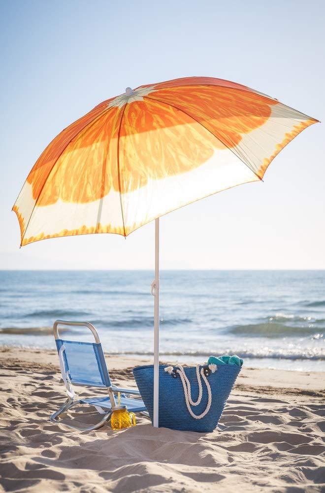 Ombrelloni Per La Spiaggia.Ombrellone Ombrelloni Mare Spiaggia Piscina Giardino Con Custodia Cm 180