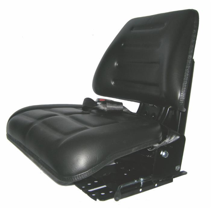 Sedile Per Trattore Carrello Elevatore Con Molleggio Largo Cm 48