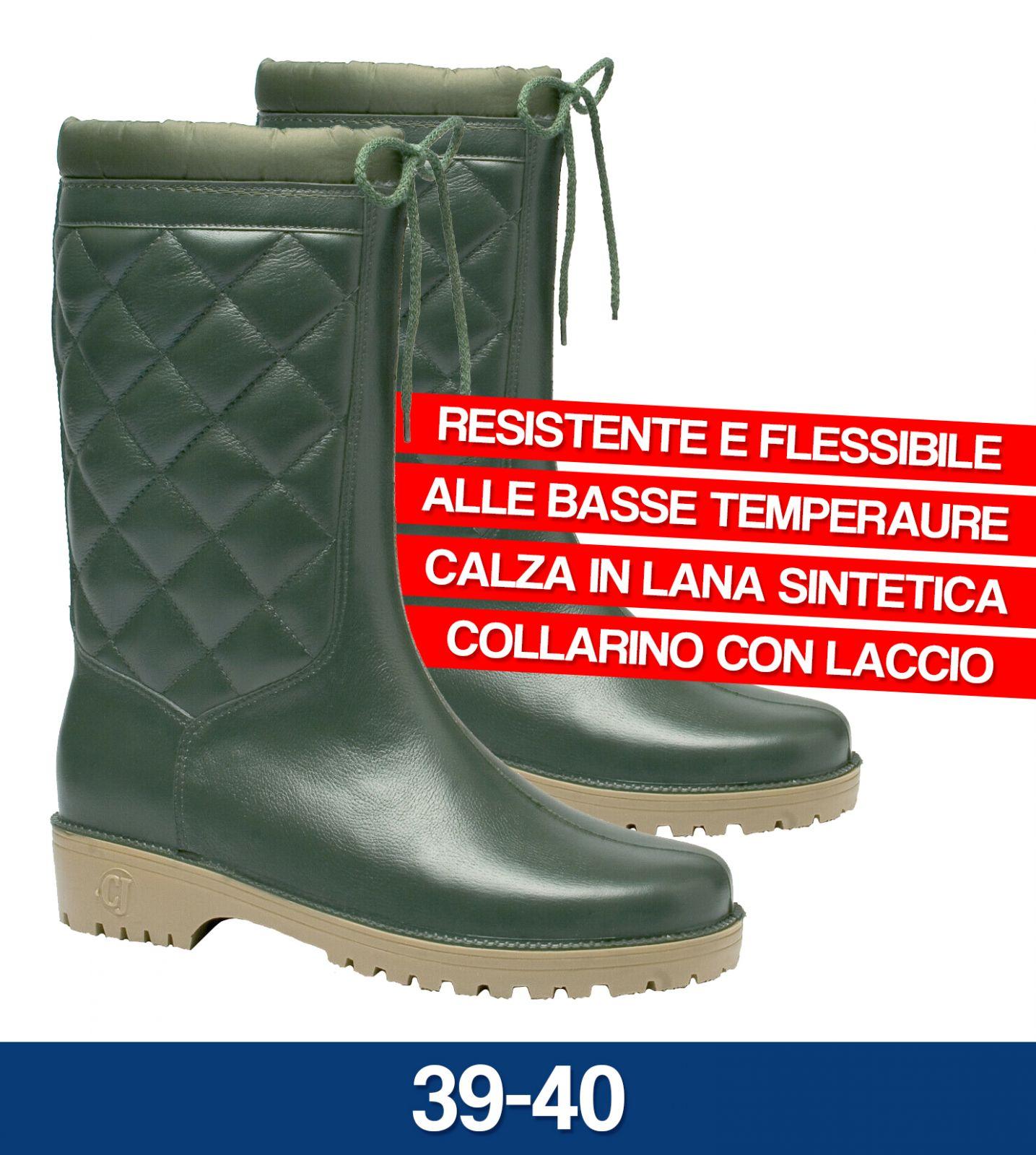 STIVALE TERMICI IN PVC WALENKY CON IMBOTTITURA PESCA LAVORO CACCIA (30881V)